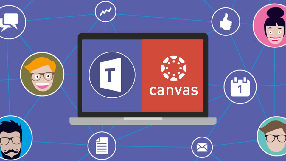 Enseñanza online con Canvas y Teams